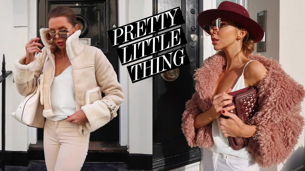[VIDEO] - PRETTY LITTLE THING HAUL & TRY ON // PLT Autumn Winter Fashion Ad 8
