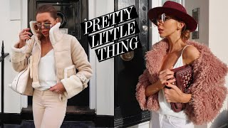 PRETTY LITTLE THING HAUL & TRY ON // PLT Autumn Winter Fashion Ad