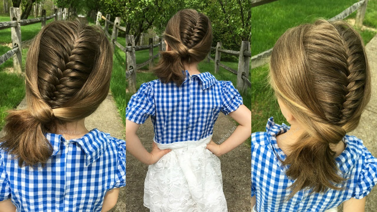 Wred French Fishtail Braid Tutorial For Short Or Long Hair