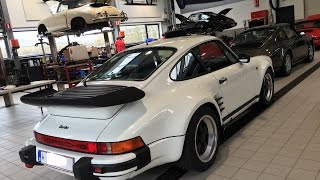 Porsche 930 (911) Turbo 3,3l - accelerations and reactions of passengers
