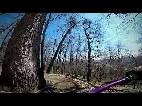 Mountain Biking Leigh Mtb Trails.  Bethlehem Pa.