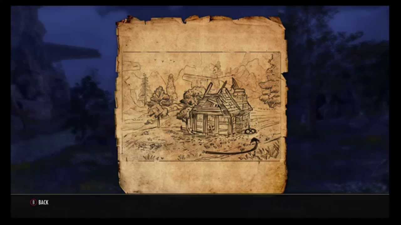 The Elder Scrolls Online: Craglorn Treasure Map 6 Location - YouTube