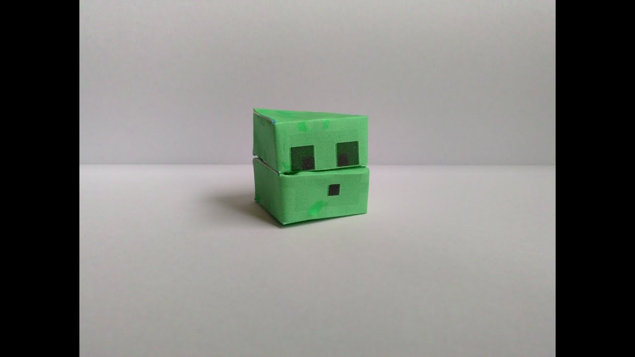 Minecraft Papercraft Slime Free Download bull Oasis dl co