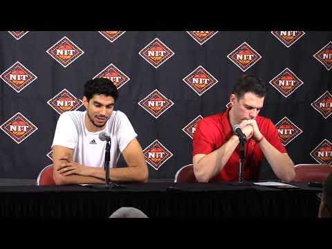 David Padgett & Anas Mahmoud Mississippi State Post-Game 3-20-2018