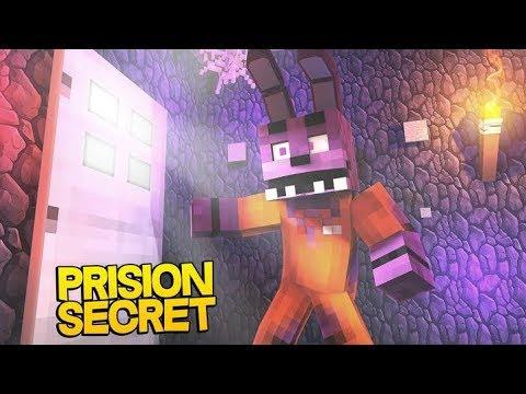 Minecraft Fnaf: Secret behind FNAF prison (Minecraft Roleplay)