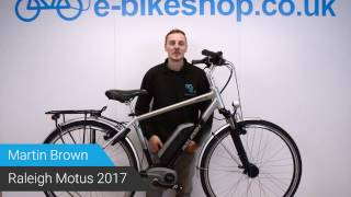 Raleigh Motus 2017 Electric Bike