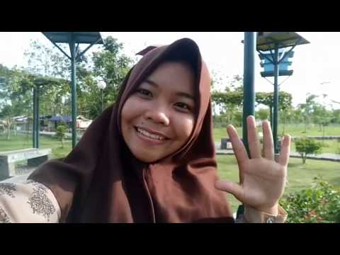 Refreshing in Gergunung Garden Klaten Indonesia #IAINskaGuide