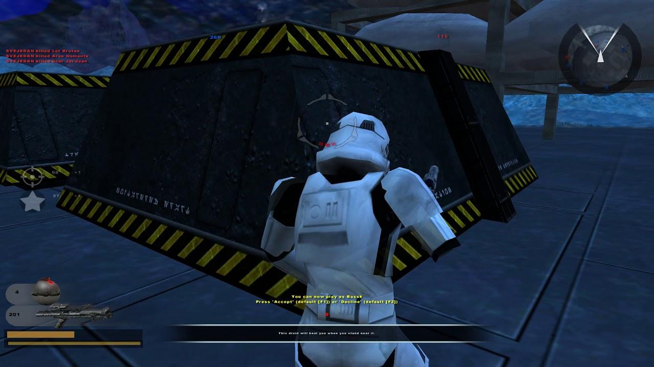 Bossk Gameplay Star Wars Battlefront 2 Classic Gameplay