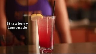 Strawberry Lemonade Cocktail - How To Make A Strawberry Lemonade