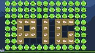 Bad Piggies - REAL 100 PIGGIES INVENTIONS (Field of Dreams)