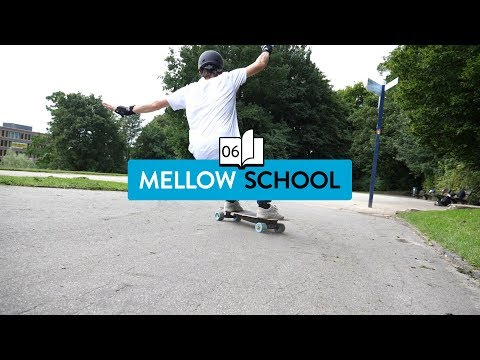 Mellow School: Emergency Braking on an Electric Skateboard