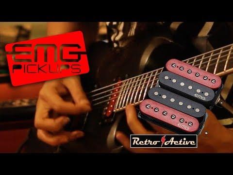 EMG Pickups Guitar Solo Demo Retroactive Super 77 set