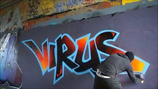 Virus london graff
