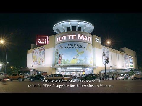 LG Air solution Chiller Case study_Vietnam Lotte Mart