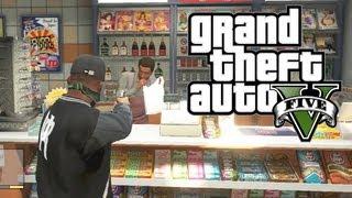 GTA 5 THUG LIFE #4 - GANG SHOOTOUTS & POLICE CHASES!