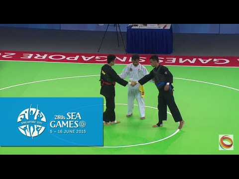 Pencak Silat Tanding Men's Class C Final VIE vs THA (Day 9) | 28th SEA Games Singapore 2015