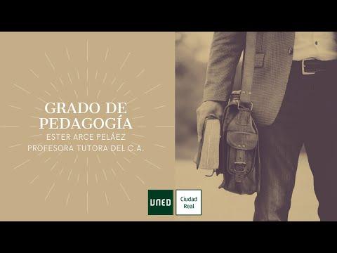 GRADO DE PEDAGOGÍA (Ester Arce Peláez)