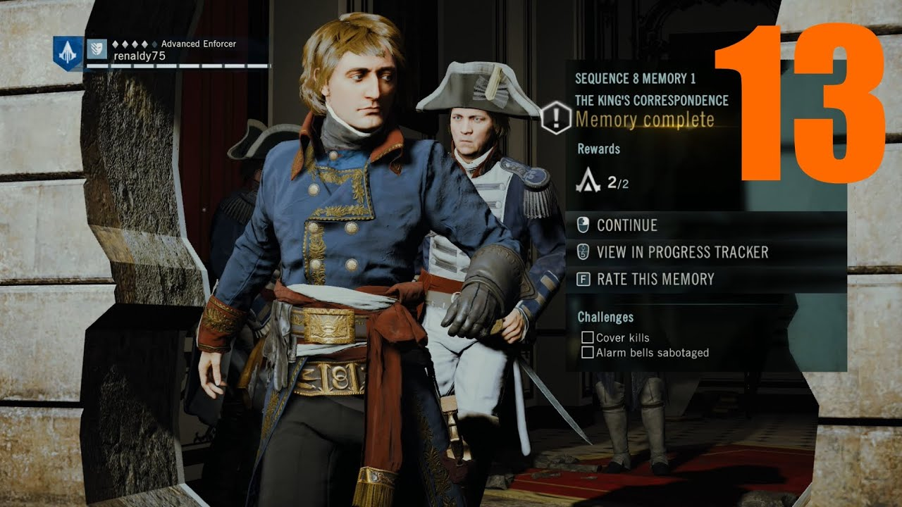 Assassin S Creed Unity Infiltrate The Palace And Find The King S