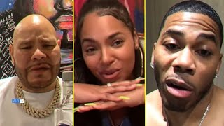 Fat Joe Asks Ashanti If She Wants Her Ex Nelly Back 'No, I Am Not Single, Sorry'