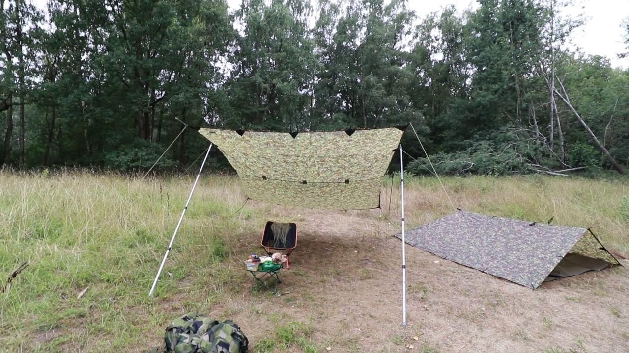 Gr/ün Camping Zelt Tarp Tragbare H/ängematte Regenschutz Regen Fliegen Wasserdicht Sonnenschutz f/ür Zelt Wanderungen Camping Picknick ENKEEO Zeltplane 3m x 3m