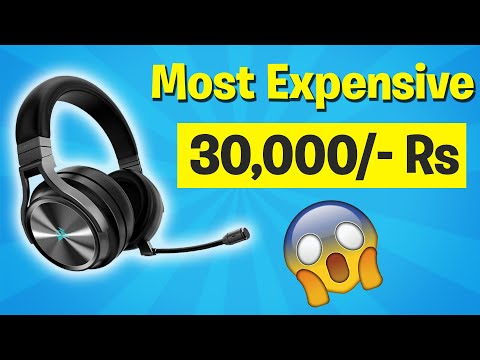 Most EXPENSIVE GAMING HEADPHONES I Ever Owned !!