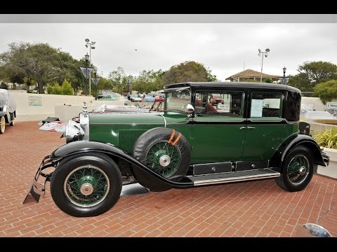 1928 Cadillac Series 341A - YouTube