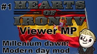 HoI4 - Modern day mod MP - Day 1 of 3