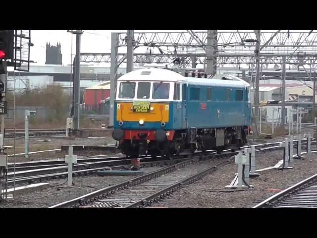 Crewe Train Station    86259 & 86101