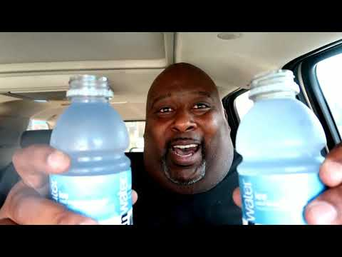 Vitamin Water Ice (Blueberry Lavender Flavor) Double Barrel Chug