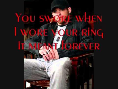 You Promised - Brantley Gilbert (Lyrics) - YouTube