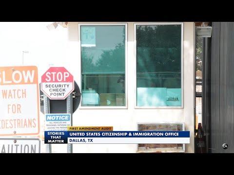 First Amendment Audit - Citizenship & Immigration Office