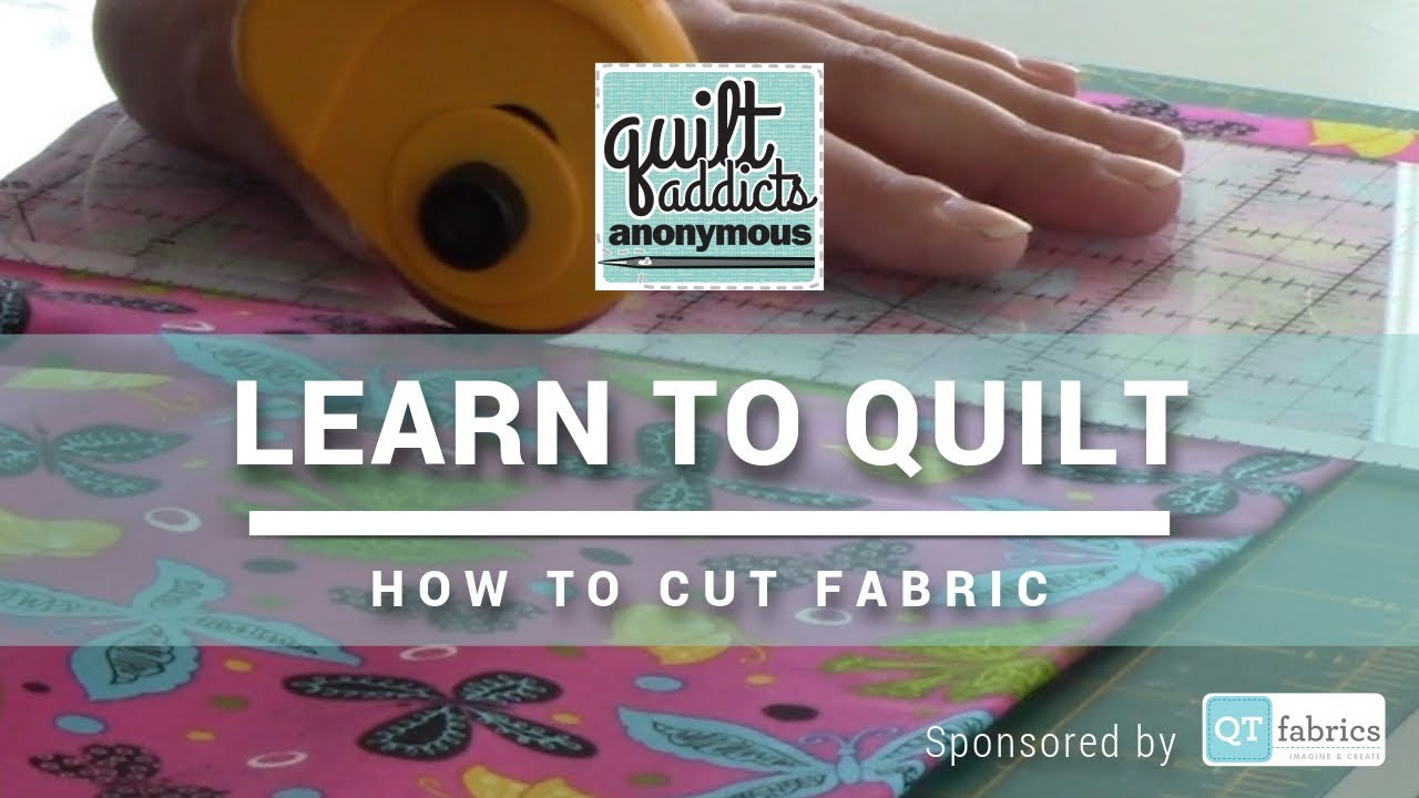 how to use a rotary cutter free beginner quilting videos and pattern