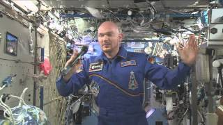 Space Station Astronaut Talks Space with Students