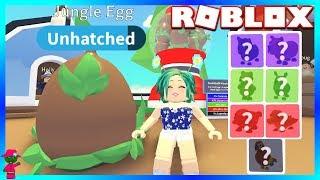 I HATCH MY FIRST JUNGLE EGGS! (Roblox Adopt Me)