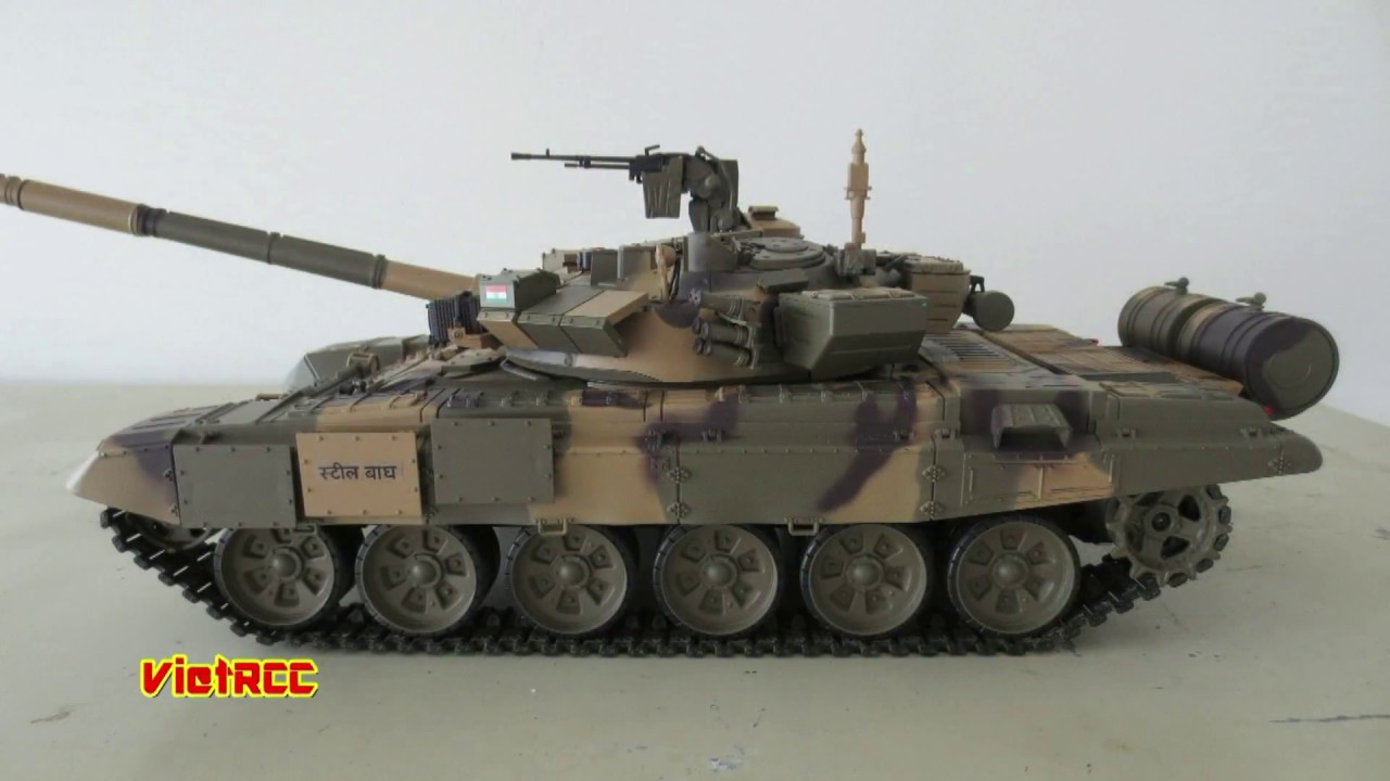 RC T90 S tank Indian Army