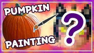 🎃 TURNING A PUMPKIN INTO AN ANIME GIRL?! || Halloween Month! 🎃