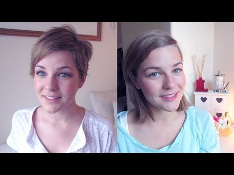 Pixie Cut Update One Year On Youtube