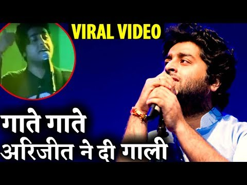 VIDEO: Bollywood Singer Arijit Singh Abusing in A Concert