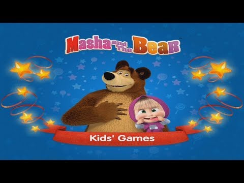 Masha And The Bear: New Kids Games – Full Gameplay (App Demo - IOS & Android)
