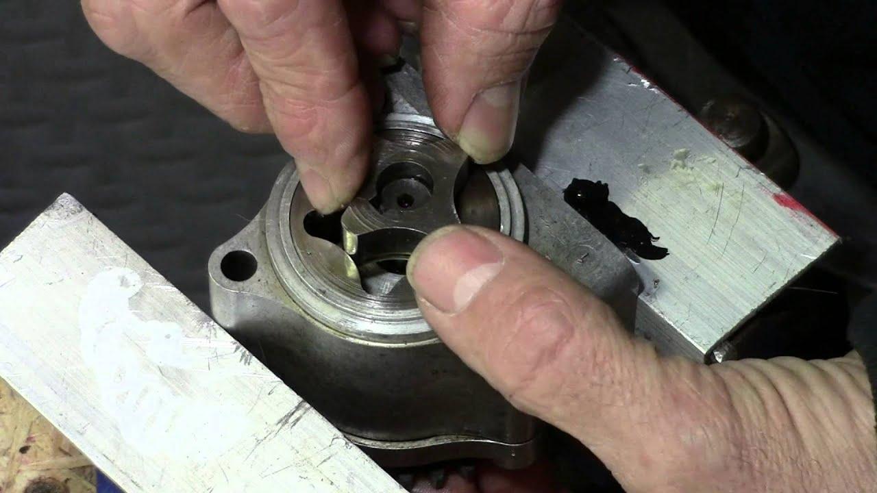 hight resolution of 73 honda cb750 custom build part 18 oil pump