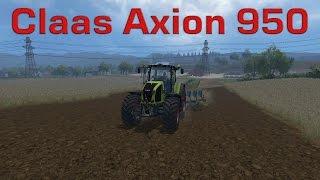 Farming Simulator 15 - Test de mods : Claas Axion 950