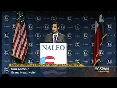 NALEO Conference - Mayor Castro addresses attendees