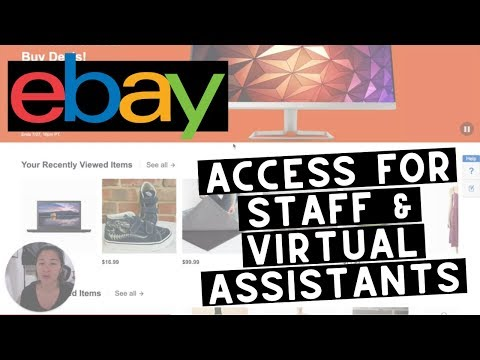 Ebay Multi User Access | Add Virtual Assistants, Staff, Employees To Your Account
