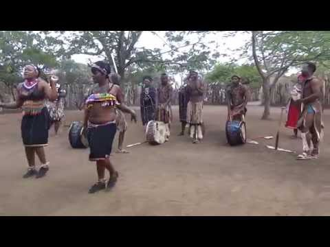 Zulu women song and dance