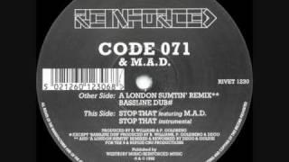 Code 071 - Bassline Dub
