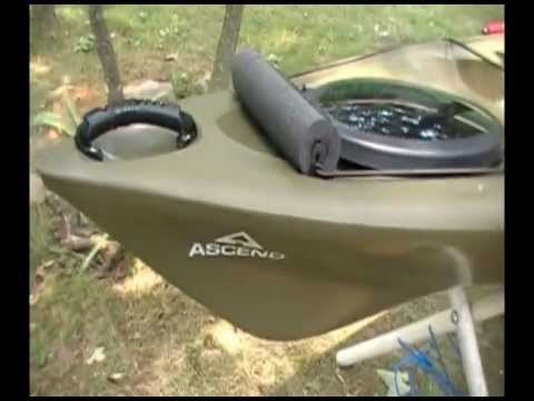 Ascend Fs12t Sit On Top Kayak Review And Rigging Part 3