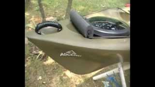 Ascend FS12T Sit On Top Kayak Review and Rigging Part 3 - Anchoring