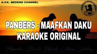 Karaoke Panbers - Maafkan Daku