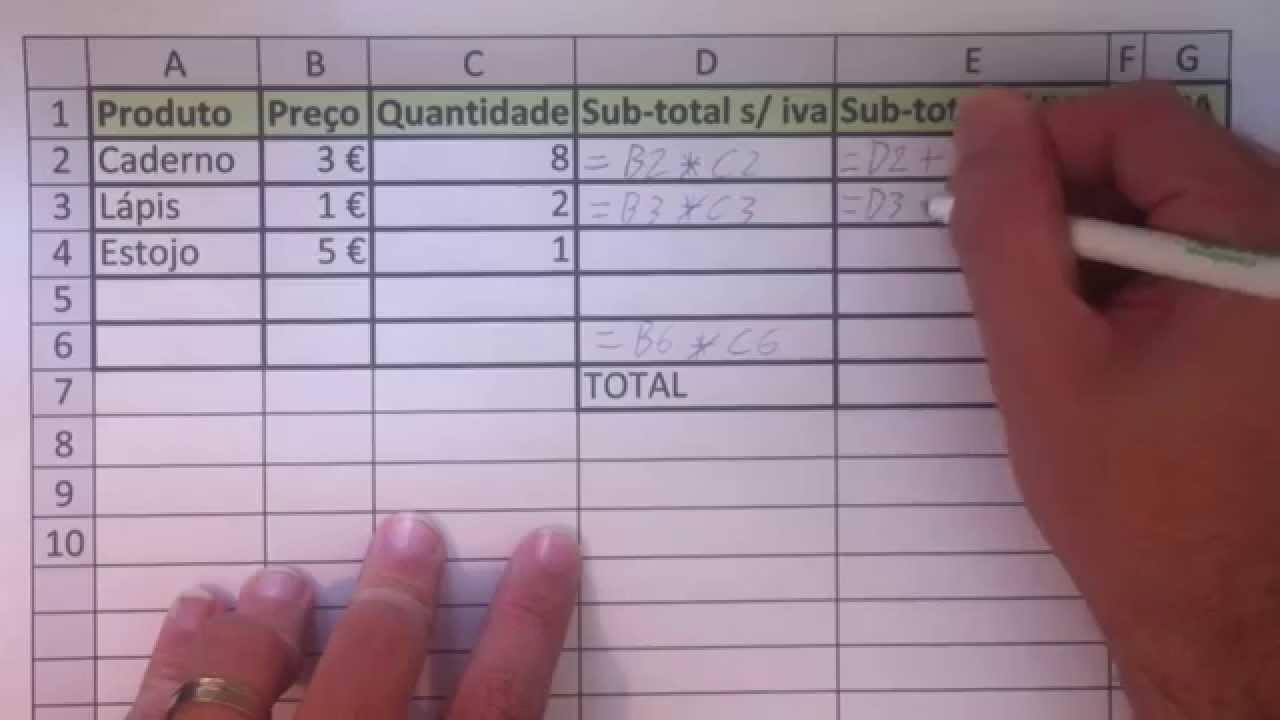 Aprender formulas no Excel em menos de 20 minutos