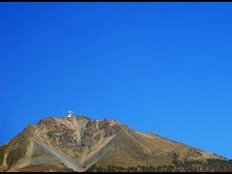 LMT - Large Millimeter Telescope - Cerro La Negra, Puebla, Mexico